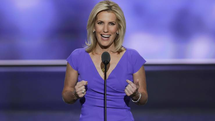 """FILE - In this July 20, 2016 file photo, Conservative political commentator Laura Ingraham speaks during the third day of the Republican National Convention in Cleveland. Fox News Channel says Ingraham is joining its prime-time lineup next week with a regular show. The Ingraham Angle,"""" will air at 10 p.m. ET. (AP Photo/J. Scott Applewhite, File) Laura Ingraham erhält ihre eigene Talkshow auf FOX News"""