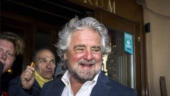 Beppe Grillo, Gründer von M5S. key