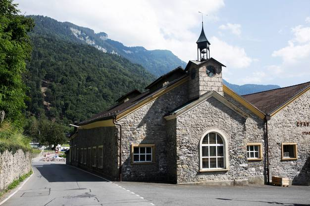 Gehört einst dem Kanton Waadt: Saline in Bex, wo die Sole zu Salz verarbeitet wird.