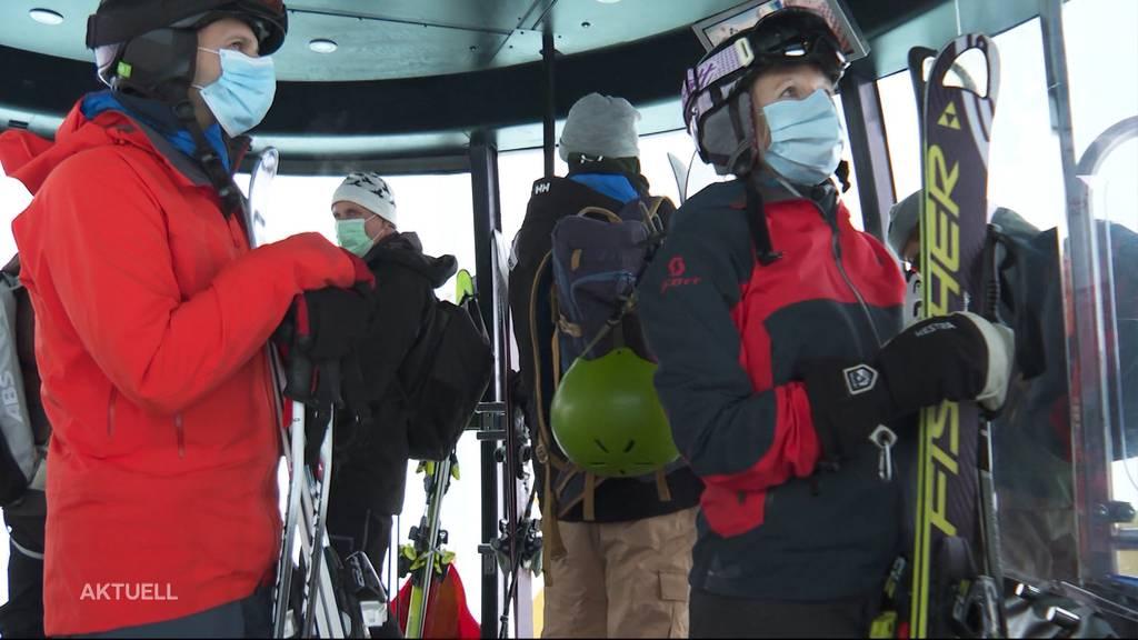 Skigebiet Engelberg Titlis eröffnet Saison