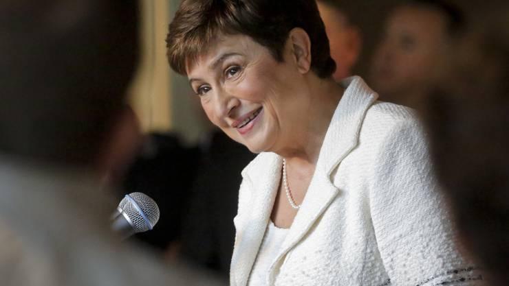Hatte sich vergeblich um das Amt der UNO-Generalsekretärin beworben: Kristalina Georgieva. Nun wechselt die Vizepräsidentin der EU-Kommission zur Weltbank. (Archiv)