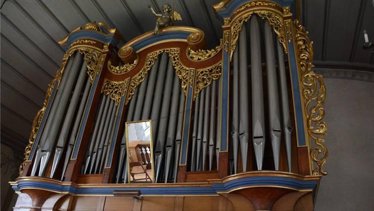 In den Orgelpfeifen hat sich Schimmelpilz angesetzt.Sabine Kuster