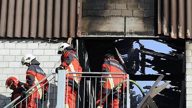 80 Feuerwehrleute waren im Einsatz (Archiv)