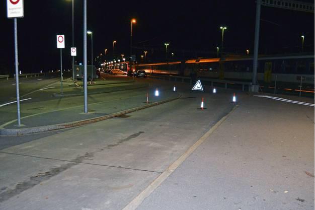 Tatort: Bushaltestelle in Ziegelbrücke