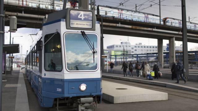 Tramhaltestelle im Toni-Areal in Zürich (Symbolbild)