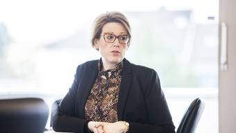 Die SVP-Fraktionschefin Désirée Stutz.