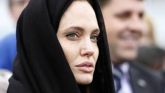 Angelina Jolie während ihres Aufenthalts in Sarajevo