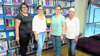 Das Team (von links): Petra Jeker, Gaby Schaad, Regula Bader (Leiterin) und Rita von Burg.