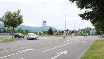 Knoten Haupt-/Schachenstrasse in Eppenberg-Wöschnau. Toni Widmer