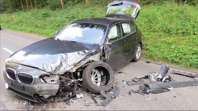 Unfallserie trotz Ferienzeit und wenig Verkehr