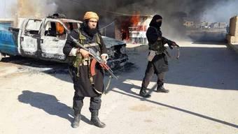 Die Kämpfer des IS begehen nicht nur Gräueltaten, sie zerstören auch antikes Kulturgut. (Archiv)