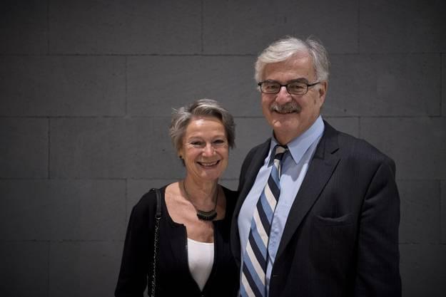 Annelies Guignard und ihr Mann, der vormalige Aarauer Stadtpräsident Marcel Guignard