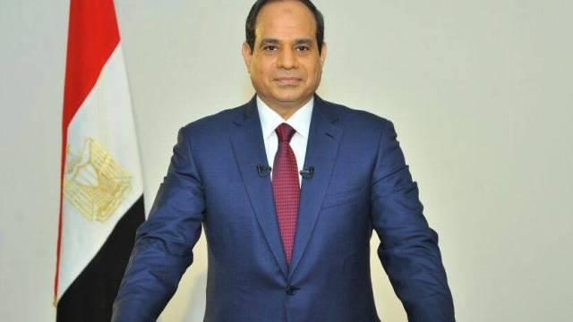 Präsident Al-Sisi nach seiner Wahl im Juni (Archivbild)
