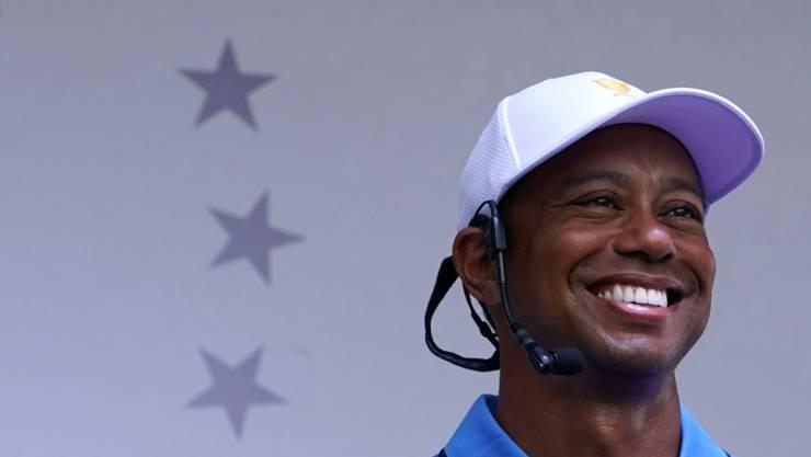 Tiger Woods steigt bestens gelaunt ins Golfjahr 2020