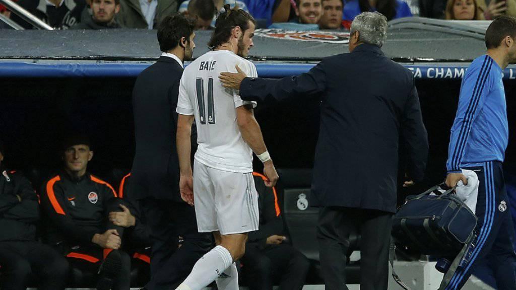 Gareth Bale verlässt das Feld