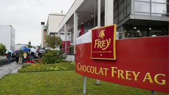 Fabrikationsgebäude von Chocolat Frey in Buchs AG.