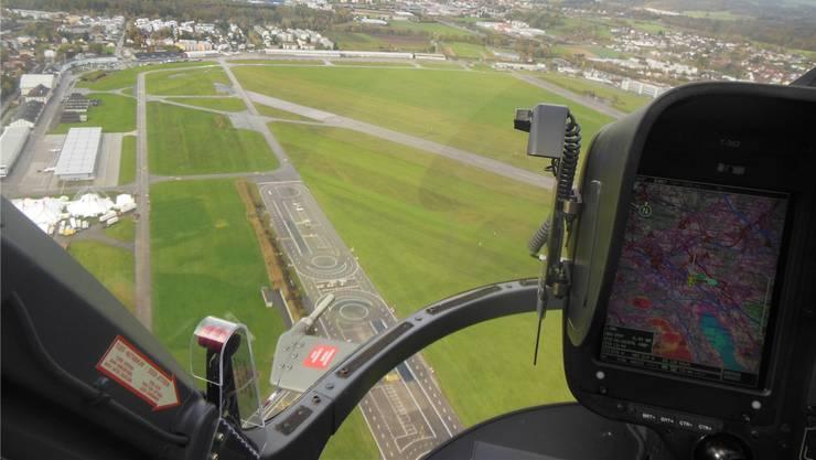 Das weitläufige Areal auf dem Militärflugplatz sei ideal, findet der Kanton.