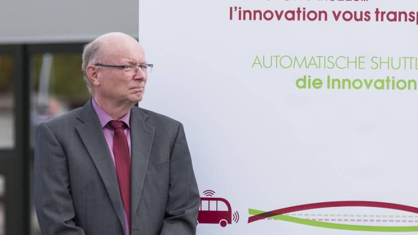 Vincent Ducrot leitet seit 2011 die Freiburger Verkehrsbetriebe (TPF).