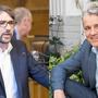 SP-Präsident Pascal Pfister (l.) gibt sich optimistisch gegenüber der Kandidatur von Beat Jans.
