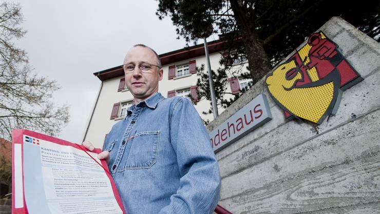 Marc Odermatt wehrt sich gegen die hohe Rechnung des Steueramts Rudolfstetten.