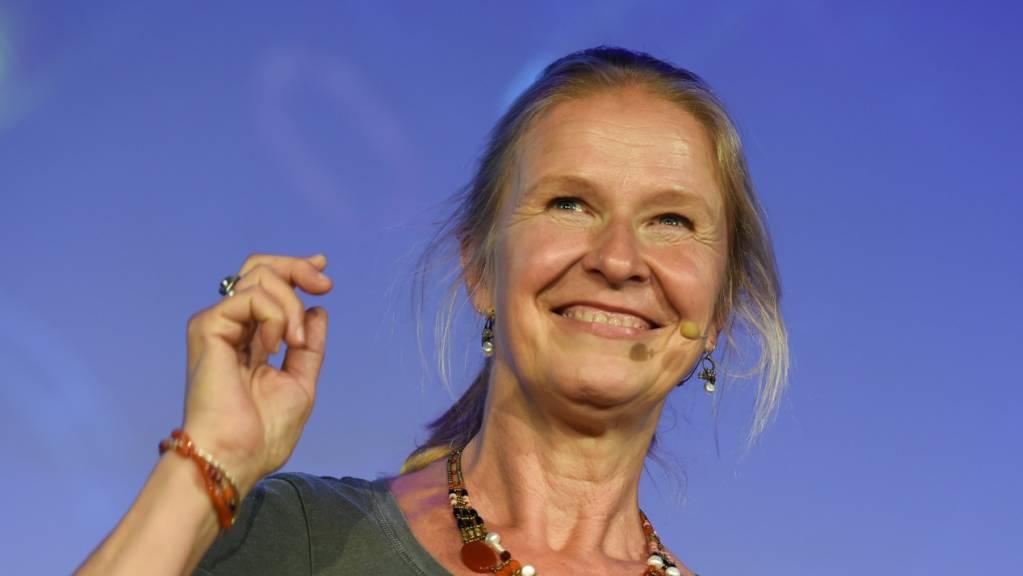 Die Kinder- und Jugendbuchautorin Cornelia Funke 2017 in Hamburg.