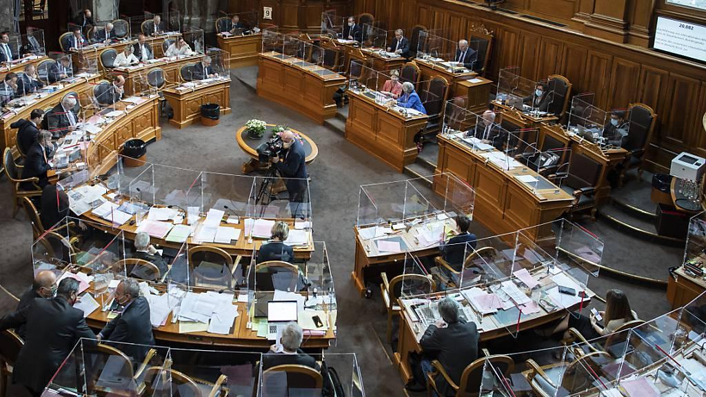 Parlament will Transparenzpflicht auch für gewählte Ständeräte