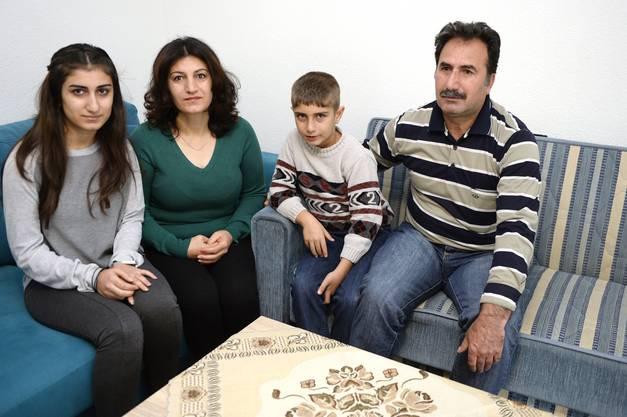 Diese syrische Familie lebt seit ein paar Wochen in Aarburg.