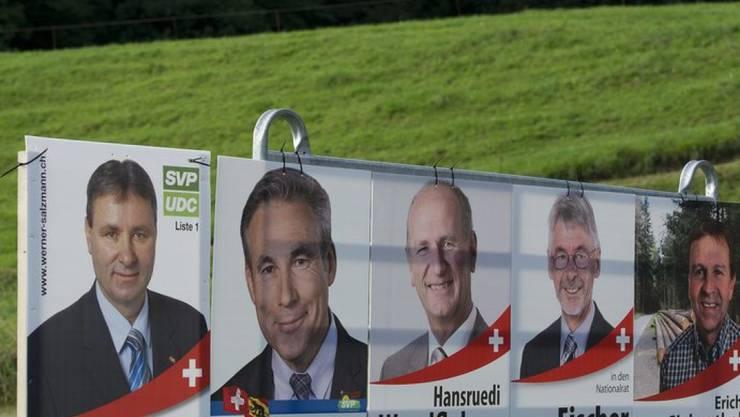 Erstmals war die SVP auch bei den Frauen die führende Partei bei eidgenössischen Wahlen (Symbolbild).