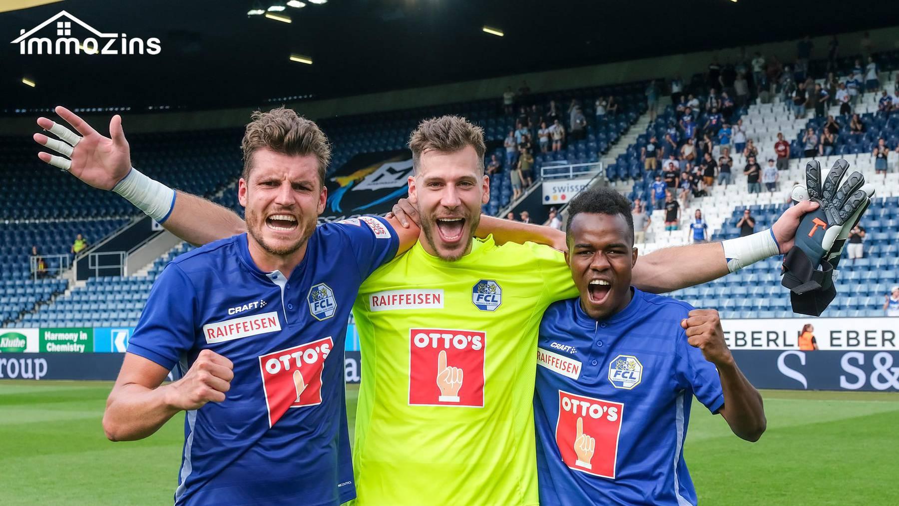Die ImmoZins AG wird neuer Partner des FC Luzern