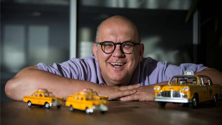 «New York ist ein Vulkan, das regt an», sagt Peter Bührer, der mit dem Pop-Art-Künstler James Rizzi einen Reiseführer über den Big Apple herausgegeben hat.annika bütschi
