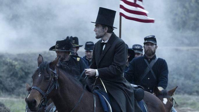 Daniel Day Lewis als Lincoln im Film von Stefen Spielberg