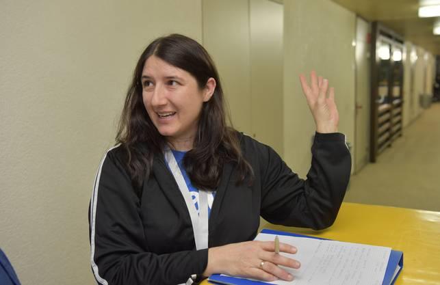 Sarah Schwab, die seit 2011 die Abende in Grenchen leitet