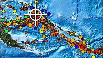 Erdbeben vor der Küste von Papua-Neuguinea