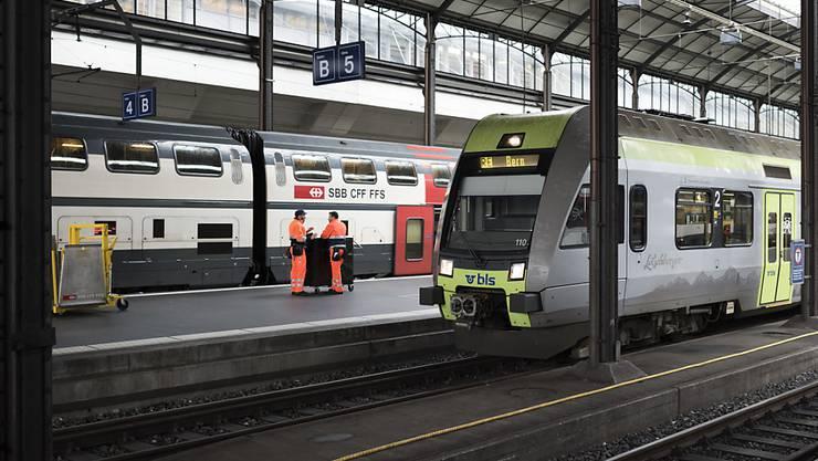 Am Bahnhof Luzern haben technische Störungen den morgendlichen Berufsverkehr gestört. (Archivbild)
