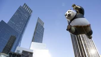 Kung Fu Panda in den Strassen New Yorks