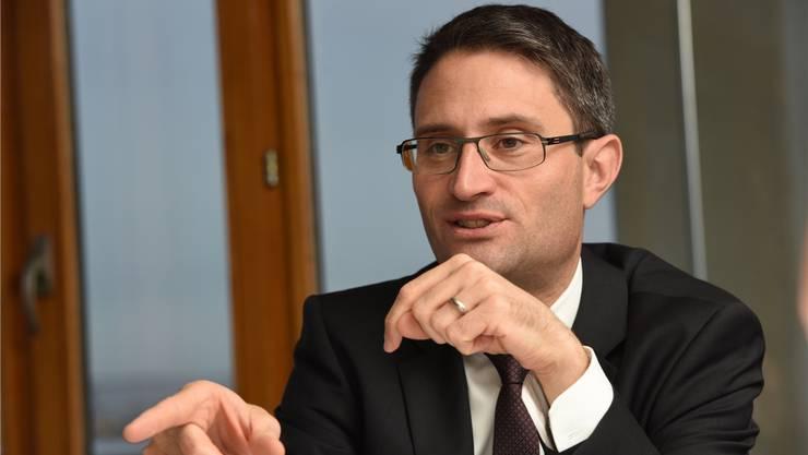 «E-Health soll nicht den Patienten, sondern die Behandlung durchsichtiger machen», sagt Regierungsrat Lukas Engelberger.