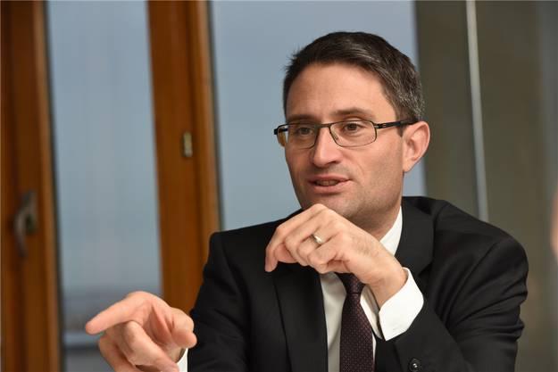Lukas Engelberger ist im Vorstand der Gesundheitsdirektorenkonferenz.
