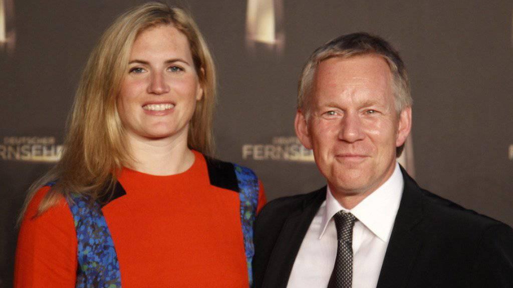 20 Jahre lang waren sie ein Paar, jetzt gehen Moderator Johannes B. Kerner und seine Frau Britta Becker-Kerner getrennte Wege. (Archivbild)