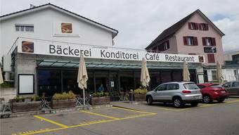 Ist trotz der Konkurseröffnung weiterhin in Betrieb: Das Hauptgeschäft der Bäckerei-Konditorei Studler AG.