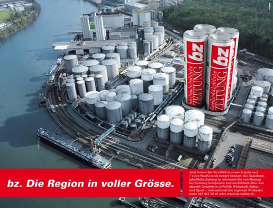 bz Werbung Anzeige Hafen
