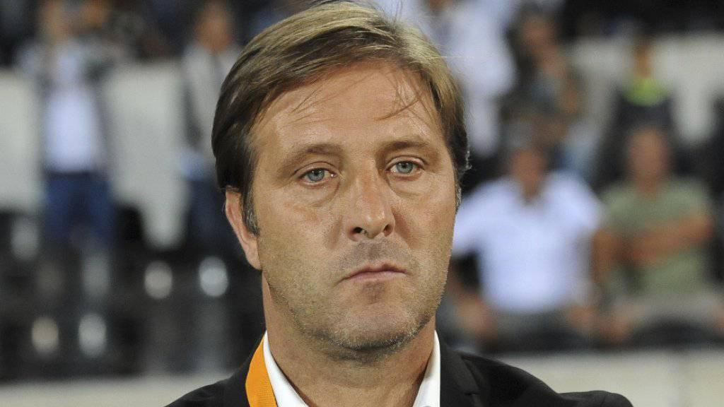 Guimarães' Coach Pedro Martins setzte am Donnerstag auf elf Nicht-Europäer in der Startformation