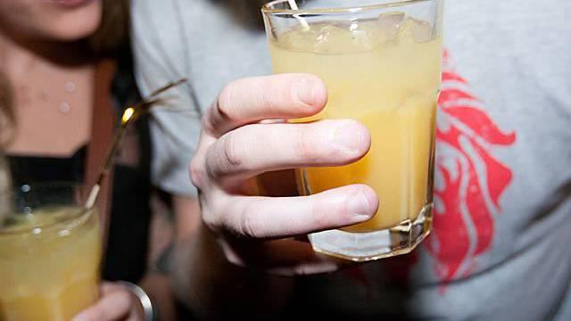 Das exotischste Getränk ist neben mehreren Hopfen-Erzeugnissen Passoa Orange ohne Eis. (Symbolbild)
