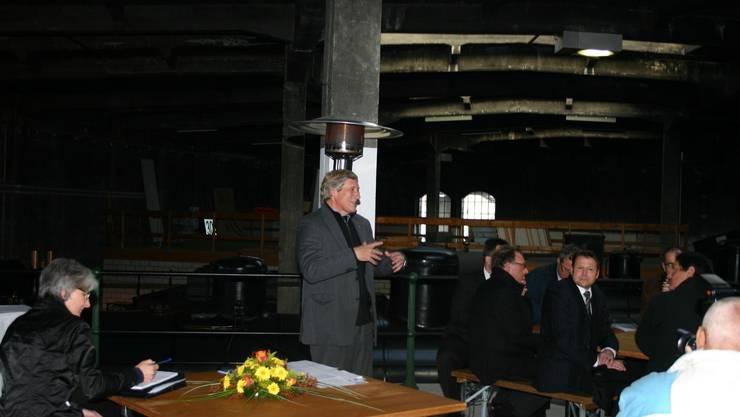 Hans-Rudolf Wyss, der Präsident der Aargauischen Industrie- und Handelskammer Region Brugg.
