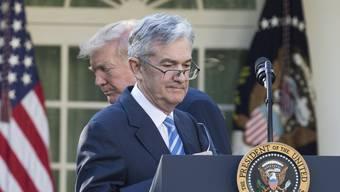 US-Präsident Trump ernannte diesen Donnerstag Jerome Powell zum neuen Chef der US-Notenbank. Grosse Anleger wie Pimco sehen keine Krise in Sicht.