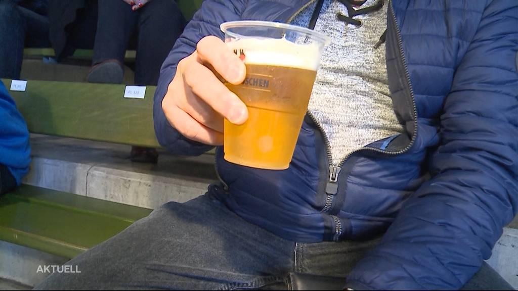 Nulltoleranz: Der Kanton Aargau verbietet Alkohol an Grossanlässen