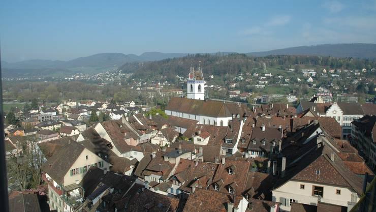 Aarau wird ab 2010 zur «Swiss City». (Bild: Toni Widmer)