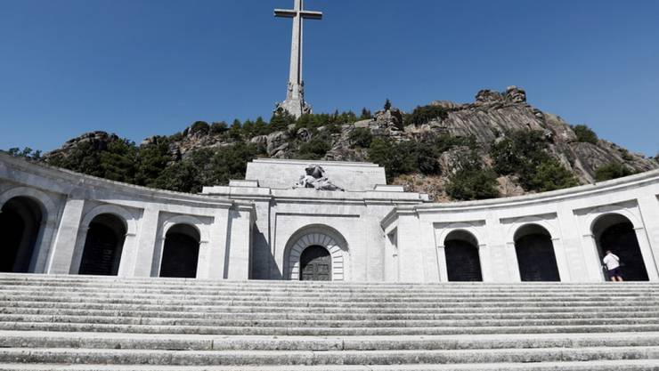 Francos Grab ist eine Pilgerstätte für die Rechten im Land. (Archivbild)