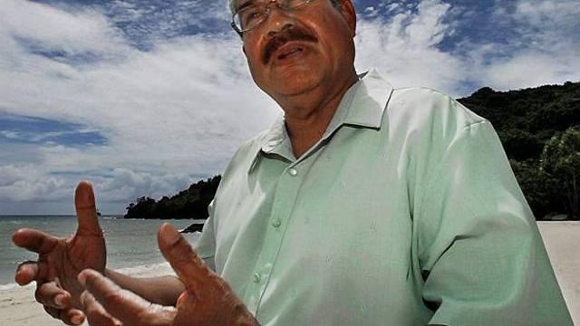 Palaus Präsident Johnson Toribiong (Archiv)