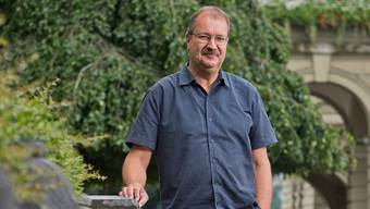 Lars Oesch findet aufgrund seines Alters keine Anstellung. Die Zuversicht hat der 57-Jährige trotzdem nicht verloren. Emanuel Per Freudiger