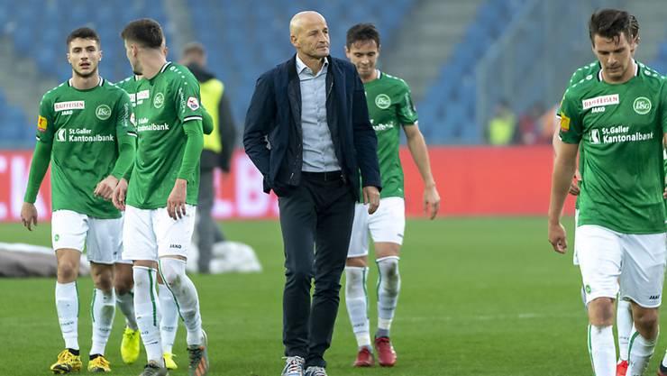 Peter Zeidler und der FC St. Gallen sind die positive Überraschung der Super League